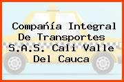 Compañía Integral De Transportes S.A.S. Cali Valle Del Cauca
