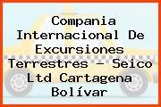 Compania Internacional De Excursiones Terrestres - Seico Ltd Cartagena Bolívar