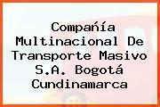 Compañía Multinacional De Transporte Masivo S.A. Bogotá Cundinamarca