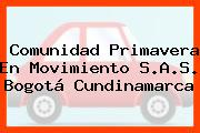 Comunidad Primavera En Movimiento S.A.S. Bogotá Cundinamarca