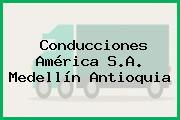 Conducciones América S.A. Medellín Antioquia