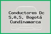 Conductores Dc S.A.S. Bogotá Cundinamarca