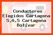 Conductores Elegidos Cartagena S.A.S Cartagena Bolívar