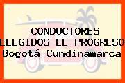 CONDUCTORES ELEGIDOS EL PROGRESO Bogotá Cundinamarca