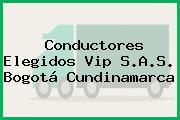 Conductores Elegidos Vip S.A.S. Bogotá Cundinamarca