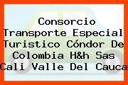 Consorcio Transporte Especial Turistico Cóndor De Colombia H&h Sas Cali Valle Del Cauca