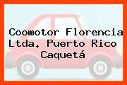 Coomotor Florencia Ltda. Puerto Rico Caquetá