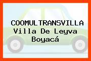 COOMULTRANSVILLA Villa De Leyva Boyacá