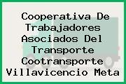 Cooperativa De Trabajadores Asociados Del Transporte Cootransporte Villavicencio Meta