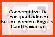Cooperativa De Transportadores Buses Verdes Bogotá Cundinamarca