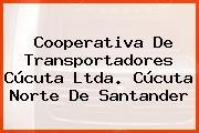 Cooperativa De Transportadores Cúcuta Ltda. Cúcuta Norte De Santander