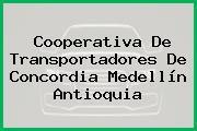 Cooperativa De Transportadores De Concordia Medellín Antioquia