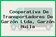 Cooperativa De Transportadores De Garzón Ltda. Garzón Huila