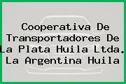 Cooperativa De Transportadores De La Plata Huila Ltda. La Argentina Huila
