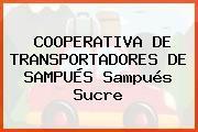 COOPERATIVA DE TRANSPORTADORES DE SAMPUÉS Sampués Sucre