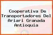 Cooperativa De Transportadores Del Ariari Granada Antioquia