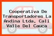 Cooperativa De Transportadores La Andina Ltda. Cali Valle Del Cauca