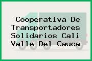 Cooperativa De Transportadores Solidarios Cali Valle Del Cauca