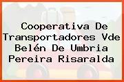 Cooperativa De Transportadores Vde Belén De Umbria Pereira Risaralda