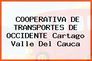 COOPERATIVA DE TRANSPORTES DE OCCIDENTE Cartago Valle Del Cauca