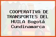 COOPERATIVA DE TRANSPORTES DEL HUILA Bogotá Cundinamarca