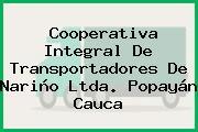Cooperativa Integral De Transportadores De Nariño Ltda. Popayán Cauca
