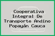 Cooperativa Integral De Transporte Andino Popayán Cauca