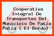 Cooperativa Integral De Transportes Del Municipio De Patía Patía ( El Bordo)