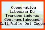 Cooperativa Laboyana De Transportadores Cootranslaboyana Cali Valle Del Cauca
