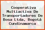 Cooperativa Multiactiva De Transportadores De Bosa Ltda. Bogotá Cundinamarca