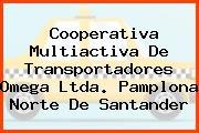 Cooperativa Multiactiva De Transportadores Omega Ltda. Pamplona Norte De Santander
