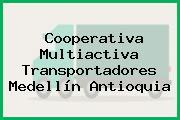 Cooperativa Multiactiva Transportadores Medellín Antioquia