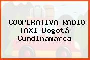 COOPERATIVA RADIO TAXI Bogotá Cundinamarca
