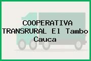 COOPERATIVA TRANSRURAL El Tambo Cauca