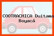COOTRACHICA Duitama Boyacá