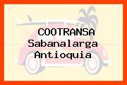 COOTRANSA Sabanalarga Antioquia