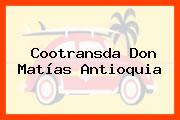 Cootransda Don Matías Antioquia