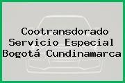 Cootransdorado Servicio Especial Bogotá Cundinamarca
