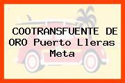 COOTRANSFUENTE DE ORO Puerto Lleras Meta