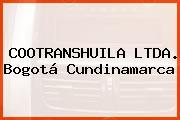 COOTRANSHUILA LTDA. Bogotá Cundinamarca