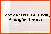 Cootranshuila Ltda. Popayán Cauca