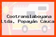 Cootranslaboyana Ltda. Popayán Cauca