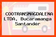 COOTRANSMAGDALENA LTDA. Bucaramanga Santander