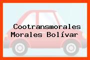 Cootransmorales Morales Bolívar