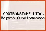 COOTRANSTAME LTDA. Bogotá Cundinamarca