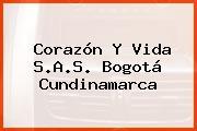 Corazón Y Vida S.A.S. Bogotá Cundinamarca