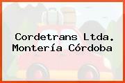 Cordetrans Ltda. Montería Córdoba