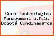 Core Technologies Management S.A.S. Bogotá Cundinamarca