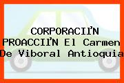 CORPORACIµN PROACCIµN El Carmen De Viboral Antioquia