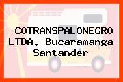 COTRANSPALONEGRO LTDA. Bucaramanga Santander